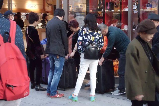 インバウンド消費 中国人